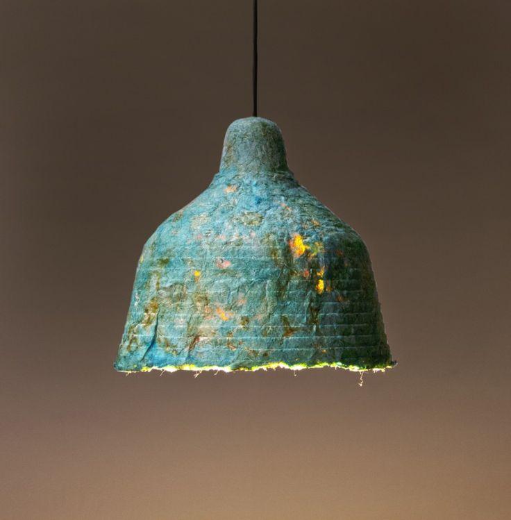 lamp made from mushrooms ( jonas edvard )
