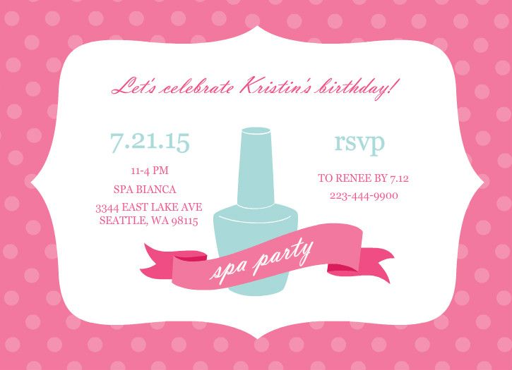 17 best images about spa party on pinterest eye masks for Spa mask invitation template
