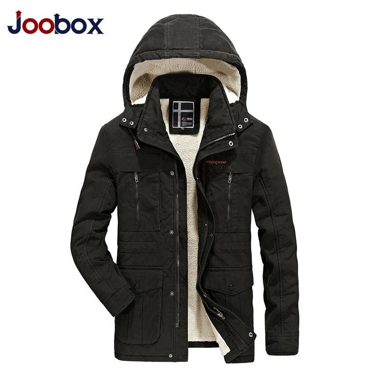 Retro Casual Brand Stand Collar Cape With Pockets Mens Winter Long Jacket Fur Lined Casacos De Inverno Masculino Veste Parka #Affiliate