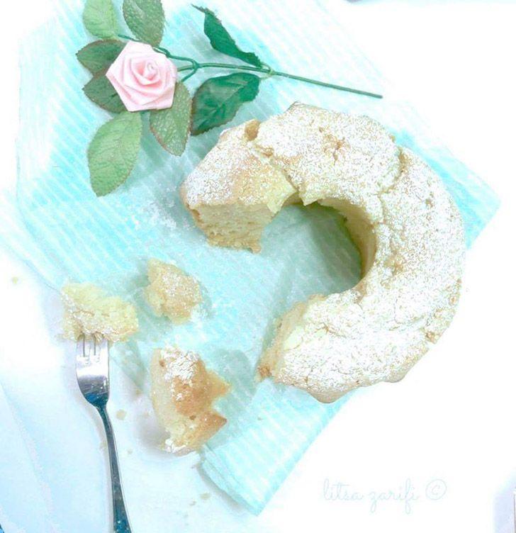Vanilla sponge cake diary free
