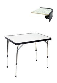 de Crespo Tafel heeft een aluminium frame en is daarom licht om mee te nemen. Hij is watervast en hittebestendig, en het blad is krasvast. De tafel is gemaakt van duurzame materialen. >> http://www.kampeerwereld.nl/crespo-tafel-al-251-09/