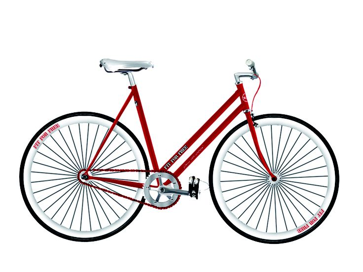 Ride Like Us - Single Speed - Woman - Brand: Fit4Free