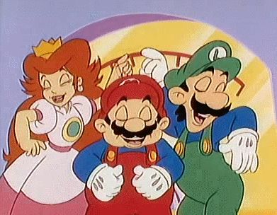 Okay, who hasn't seen this show? It's awesome and the episode with Mama Luigi is priceless.