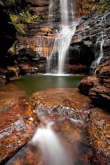 Emperor Falls - Blue Mountains National Park NSW AU