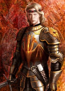 "Daeron I Targaryen (143AC - 161AC), Successor of Aegon III and King of the Seven Kingdoms (157AC - 161AC). Son of Aegon III and Daenaera Velaryon. Known as ""The Young Dragon"" and ""The Boy King"". Daeron I is known as the king who finally conquered Dorne and united all Seven Kingdoms for the first time. Unfortunately, the murder of the steward he had left to rule Dorne only a fortnight later led to a Dornish uprising which resulted in his death at age 18."