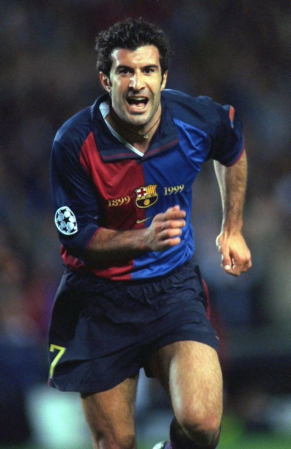 Luís Figo, is a Portuguese retired footballer. He played as a winger for Sporting CP, FC Barcelona, Real Madrid, and Internazionale before retiring. He won 127 caps for the Portugal national football team.