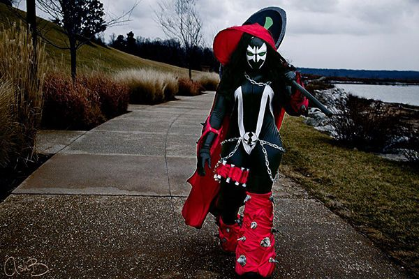 Lady Spawn, Cosplayer Mewpuff, Photos by AshB Images.