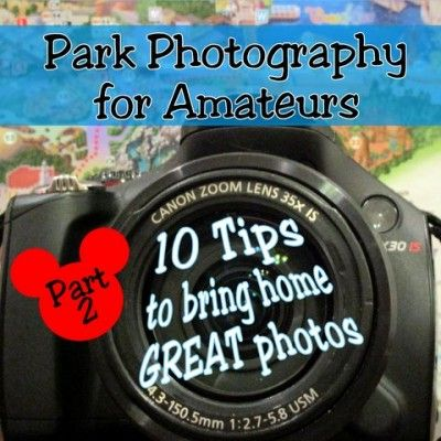 Get tips for taking better pictures during your Disney World vacation!