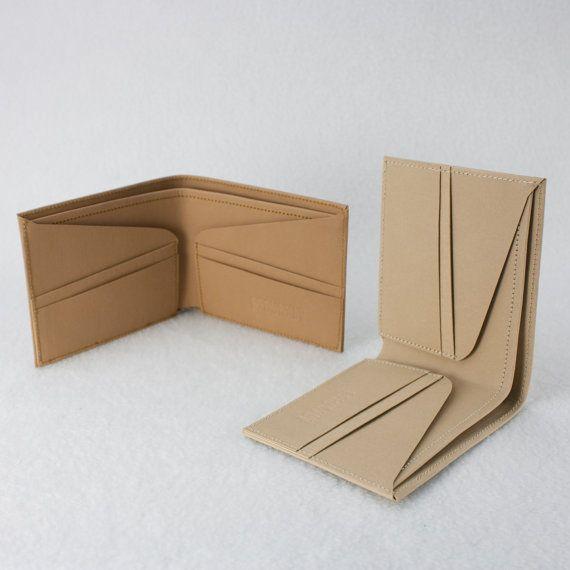 Mens Wallet / Minimalist SuperThin Washable Paper by SIDONIEYANG, $58.00