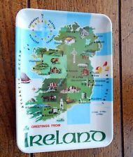Melamine Tip Souvenir Tray Coin Tip Tray Ireland Map