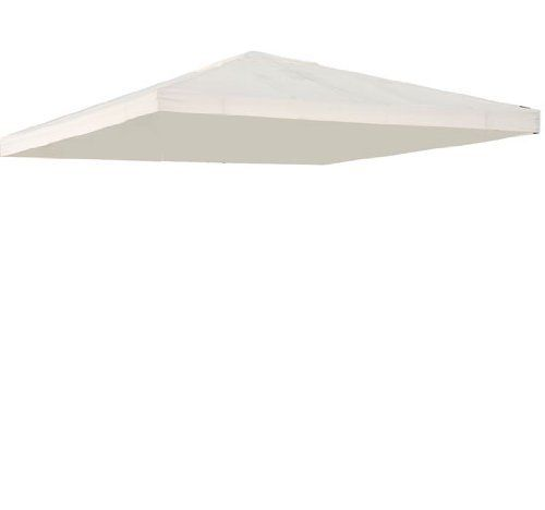 10' x 10' Gazebo Replacement Canopy Top Cover - Single-Tier - Off White by Aosom. $68.72. Designed to fit most standard 10' x 10' square gazebo frames. Reinforced corners to stand years of use. UV Coating for effective harmful UV blocking, antioxidation and waterproof performance. Velcro straps on main canopy allow easy installation and attachment to gazebo. Easy to assemble and quick to store away. Get this ventilated top Replacement Gazebo Canopy Top Cover to upgrade ...
