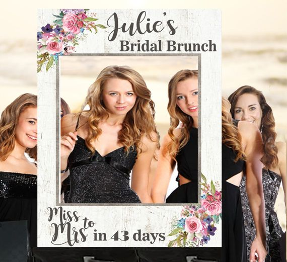 Bridal Shower Gift Photo Prop Wedding by ThestoryoftheFall on Etsy