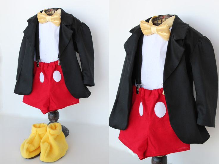 Mickey Mouse costume (yes! for a boy!) - girl. Inspired.