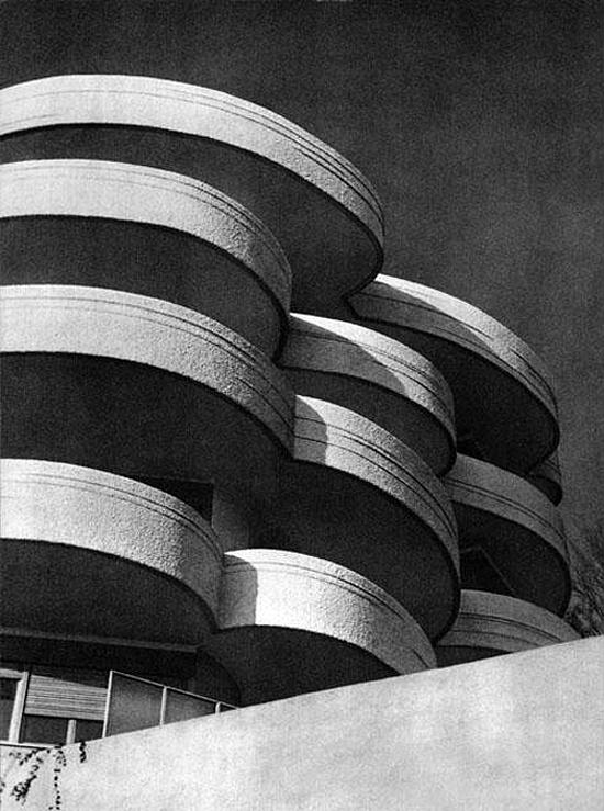 Luigi Moretti: Residential complex, Monte Mario