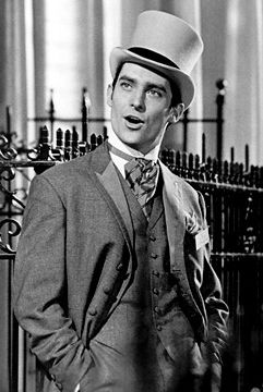 very very young Jeremy Brett, before Sherlock Holmes. In My Fair Lady 1964