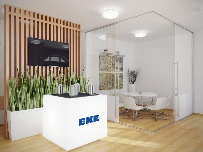 Дизайн интерьера офиса для отдела продаж компании EKE Group на Васильевском острове