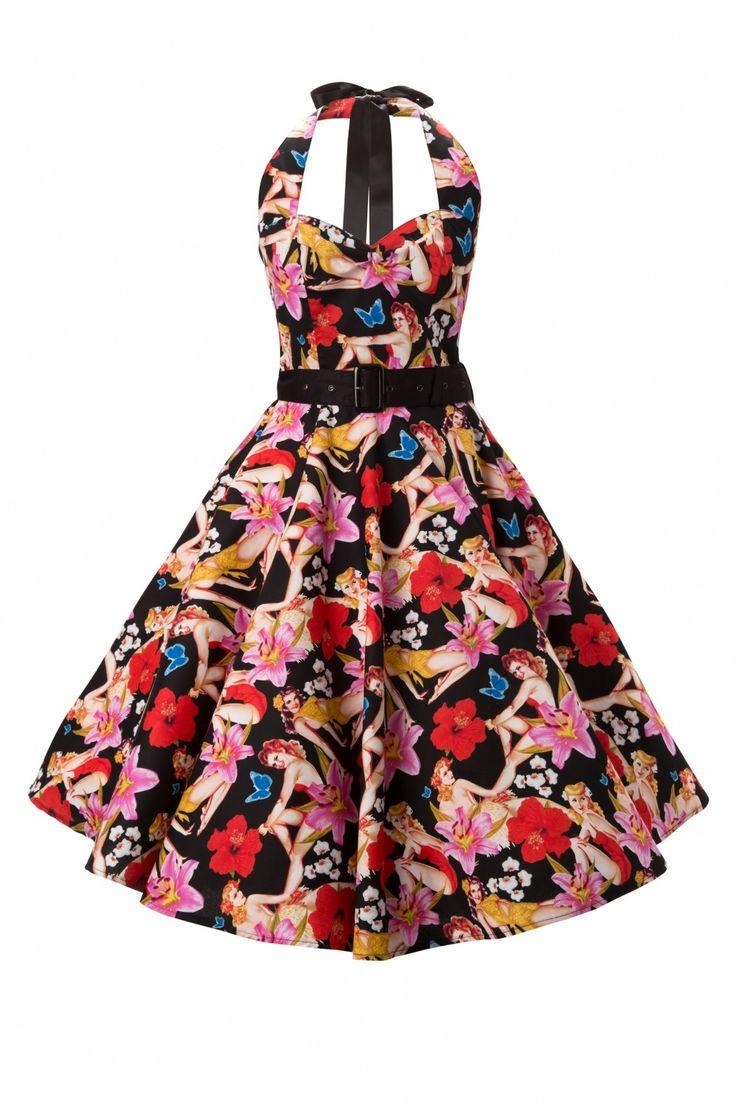 MOST GORGEOUS DRESS - Hawaï pinup swing dress <3 <3 <3  #topvintage