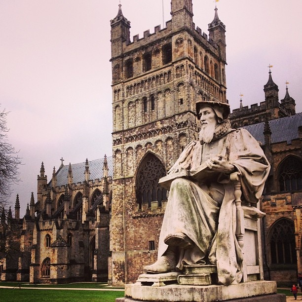 Exeter cathedral #exeter #cathedral #chirch