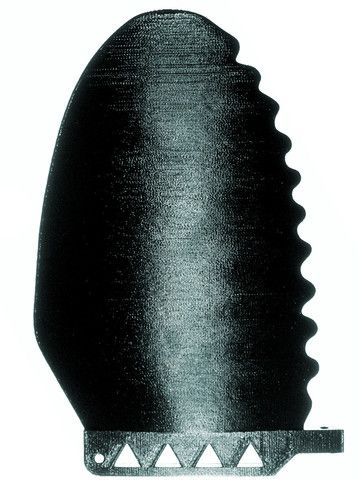 A single fin which will improve performance in and out of the water! People will stop you to talk about this fin.