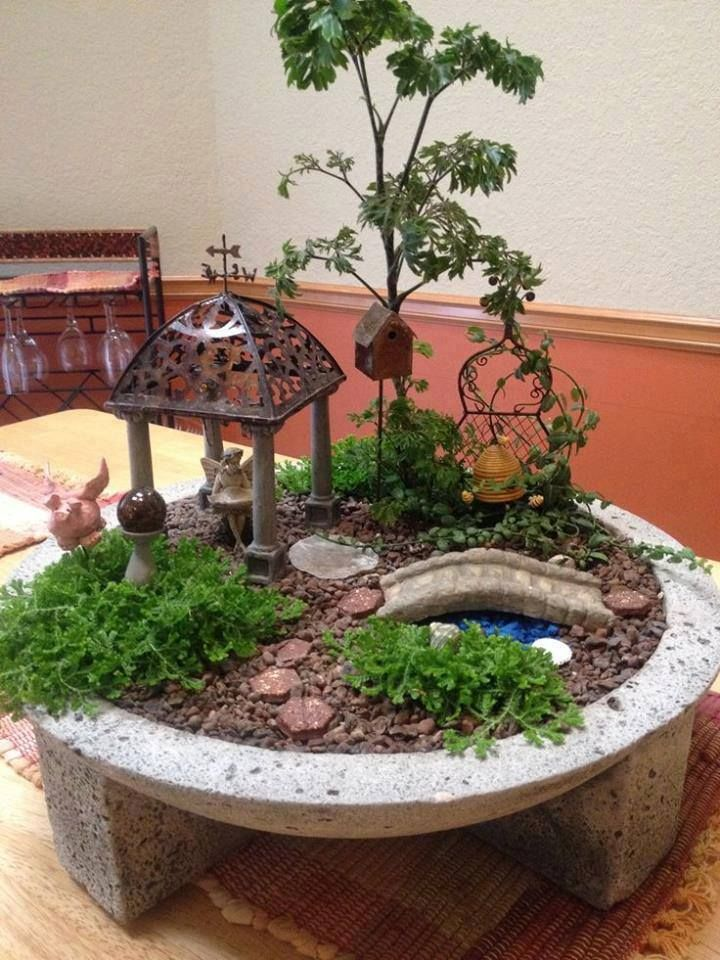 1000 images about jardins miniatures on pinterest for Miniature garden ideas