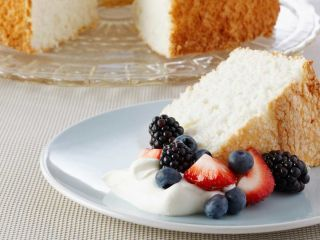 Angel cake Anna Olson