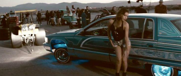 Cadillac Fleetwood (1995) car in SUMMER by Calvin Harris (2014) @Cadillac