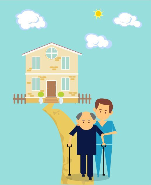 Are your loved ones unable to take care of themselves properly? Hire us to get best and efficient #OldAgeHome services. #NRIHelper
