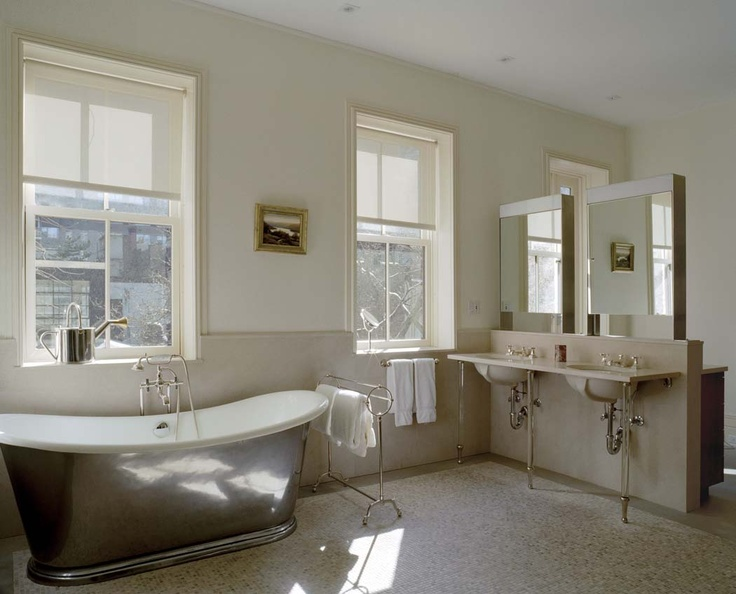 East Side Townhouse 1, Master Bathroom, New York, 2005, BWArchitects