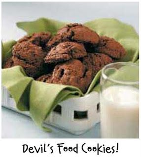 Prepared NOT Scared!: Mix Recipe #14: Devil's Food Cookies!