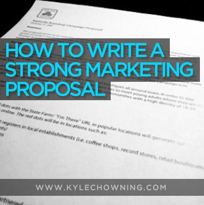 Más de 25 ideas increíbles sobre Marketing proposal en Pinterest - marketing proposal templates