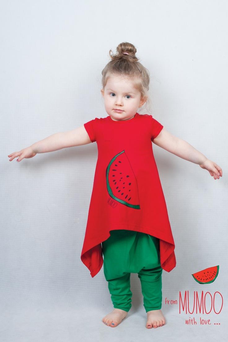 Arbuzowa tunika / Watermelon tunic