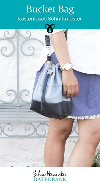 Bucket Bag Noch keine Bewertung. | Nähmuster | Pinterest | Nähen ...