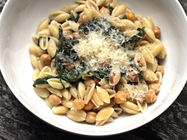 Scott Conant's Cavatelli with Wilted Greens, Pancetta, and ChickpeasAcquired Food, Scott Conant Recipe, L'Wren Scott, Scott Conant Chefs, Wilted Green, Favorite Recipe, Serious Eating, Conant Cavatelli, Serious Eats