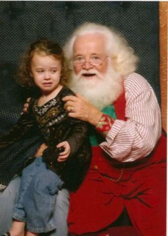 Kids With Santa – 50 Funny Christmas Pictures