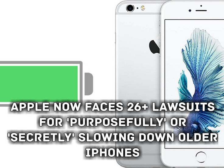 """#tech #technology #news #breakingnewshttps://goo.gl/XQkF7j"""" Apple now faces over two dozen lawsuits around the world that either accuse the company ofintentionally slowing down older iPhones or at least of failing to disclose power management changes it made starting in iOS 10.2.1. The lawsuits include 24 class action complaints in the United States with the latest two filed on Thursday by Marc Honigman and Lauri Sullivan-Stefanou in New York and Ohio respectively according to electronic…"""