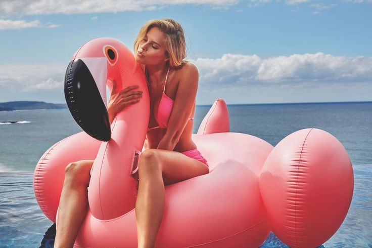 Giant Inflatable Pink Flamingo #pooltoys #inflatables #flamingo #pink #summer #fun #pooltime #beach #nerozeroshop