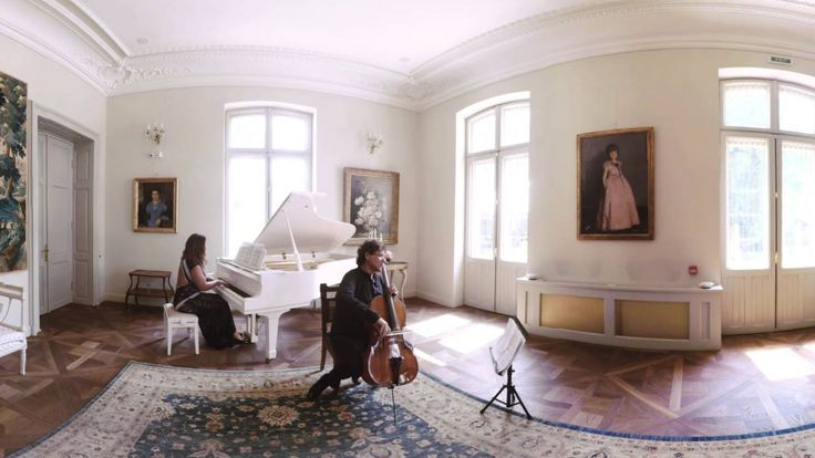 360°  Salut d'Amour - Rodin MOLDOVAN & Ioana LUPASCU  (Elgar)