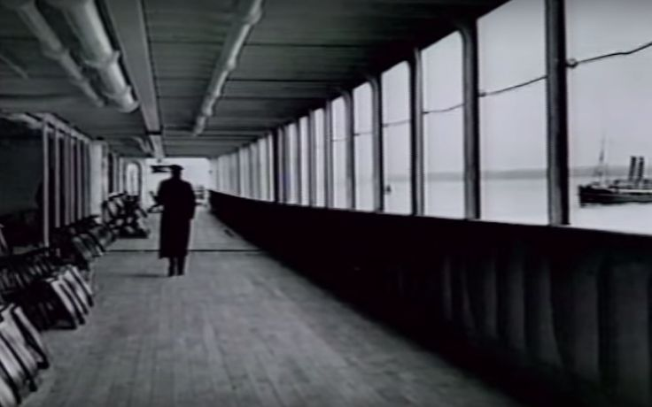 The promenade deck was located directly below the top deck. While this deck was for general use, there were four cabins that featured private 50-foot promenade decks of their own. They were called Parole Suites and were the most expensive rooms available. The priciest of these rented for over $4,000 in 1912, which is close to $100,000 today.