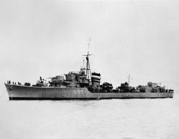 HMS Laforey (G99) L-class destroyer of the British Royal Navy. (google.image) 5.17 #50B