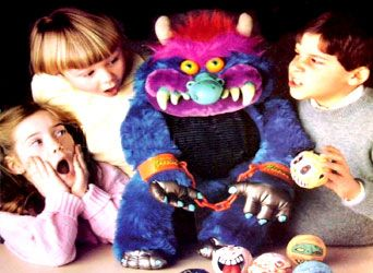 My Pet Monster Stuffed Animal  1980's toys