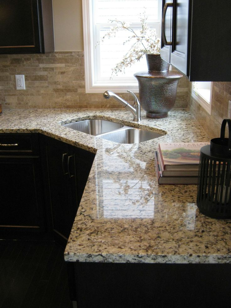 Kitchen Backsplash Ideas With Venetian Ice Granite