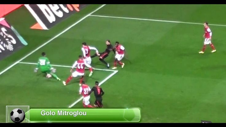SP. Braga Vs Benfica   Lances e golo - Visto da bancada