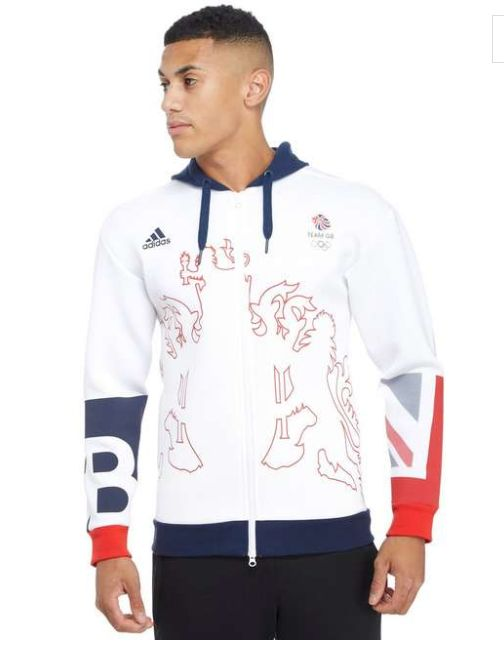 JD Sports adidas Team GB Village Wear Hoody