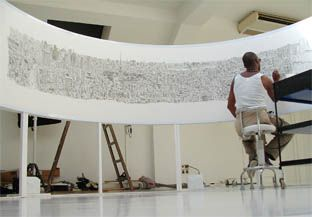Stephen Wiltshire, a man with autism who draws amazingly detailed cityscapes from memory.