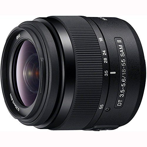 This superb standard zoom lens for your α (alpha) DSLR camera has a smooth and silent AF operation with built-in Smooth Autofocus Motor (SAM) to handle the full range of your most common shots. In 35...