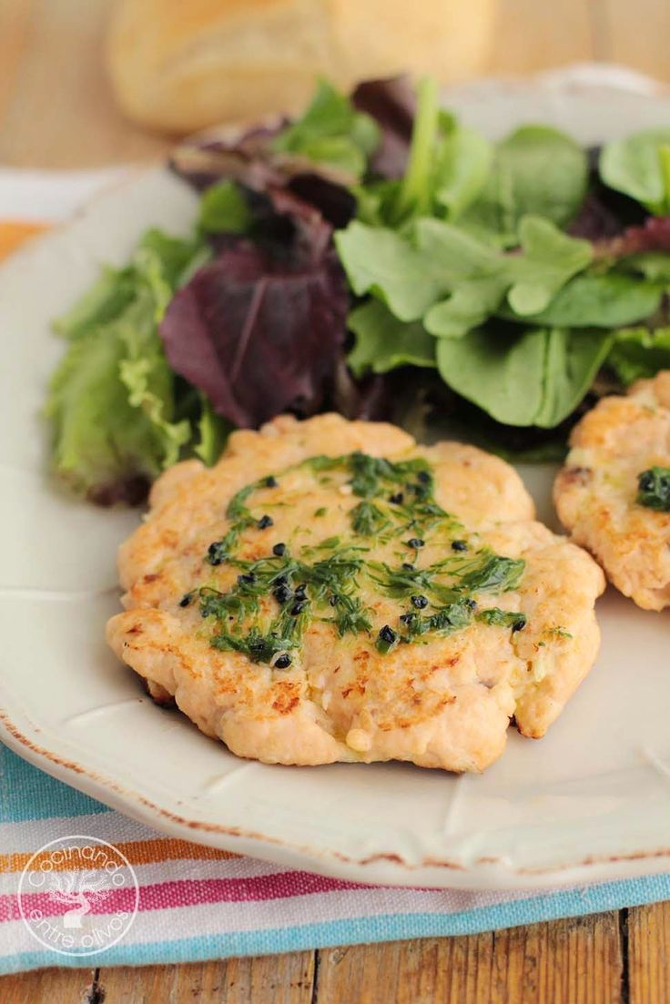 Cocinando entre Olivos: Hamburguesas de salmón y merluza. Receta paso a pa...