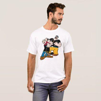 Popeye T-Shirt - humor funny fun humour humorous gift idea