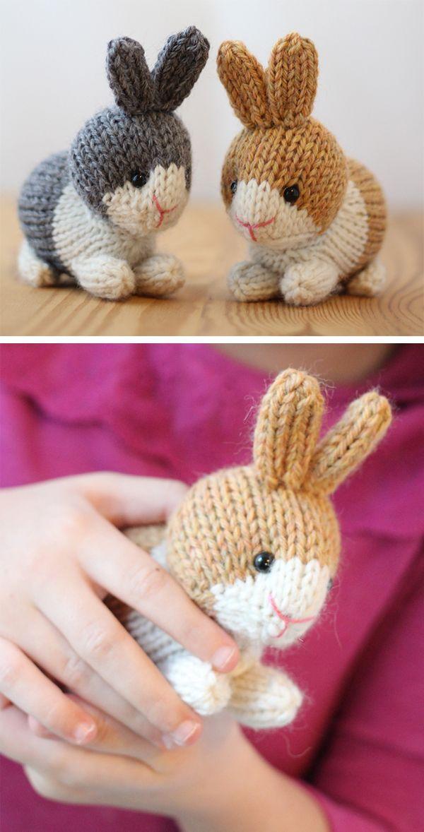 Conejo de Pascua Conejos Juguete Tejer patrón