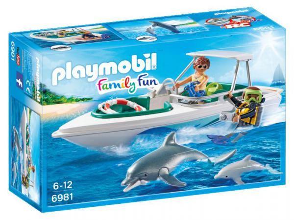 Playmobil - Bateau de plongée #jeux #jouet #puériculture #bebe #bébé #maternité #listedenaissance #naissance #cadeaunaissance #cadeau #futuremaman #grossesse #enceinte #chambreenfant #chambrebebe #playmobil #enfant #famille #bateau