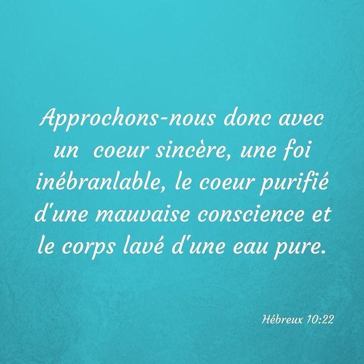Par Jésus cela est possible. Quelle #grâce ! Que vas-tu Lui dire ce matin ? #versetdujour